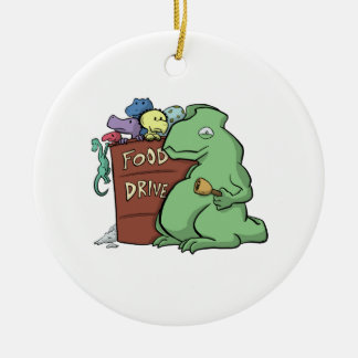 Dinosaur Food Drive Ornament