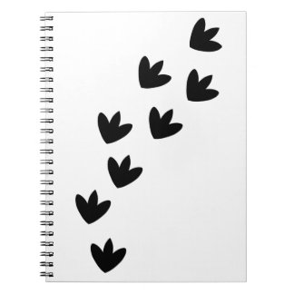 Dinosaur Footprints Notebook