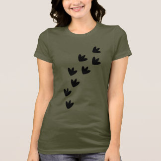 Dinosaur Footprints T-Shirt