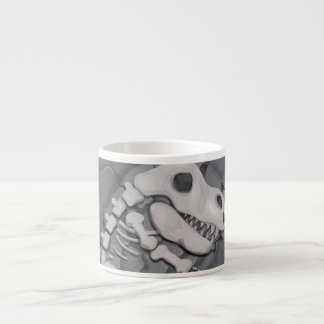 Dinosaur Fossil Cartoon Espresso Cup