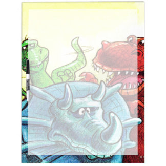 Dinosaur Friends Dry Erase Board