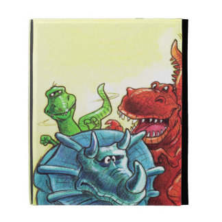 Dinosaur Friends iPad Folio Case