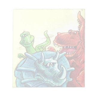 Dinosaur Friends Notepad