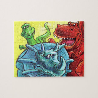 Dinosaur Friends Puzzles