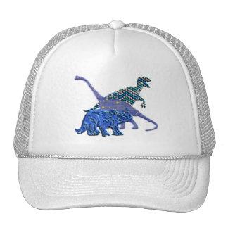 Dinosaur Gang Mesh Hats