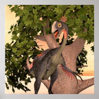 Dinosaur Gigantoraptor Poster
