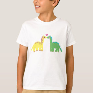 DINOSAUR & GIRAFFE T-Shirt