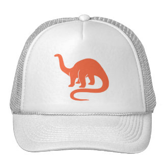 Dinosaur Hat - Orange