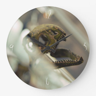 Dinosaur head large clock