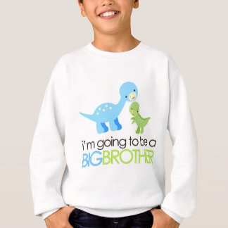Dinosaur I'm Going to Be A Big Brother Sweatshirt