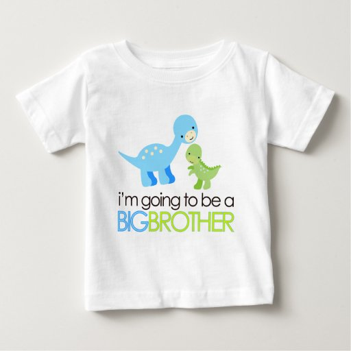 Dinosaur I'm Going to Be A Big Brother T-shirts