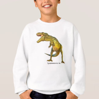 Dinosaur image for Kids-Sweatshirt-White Sweatshirt