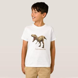 Dinosaur image for Kids'-T-Shirt-White T-Shirt
