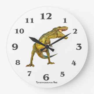 Dinosaur image for Round Large Wall Clock