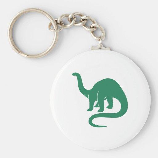 Dinosaur Keychain Green