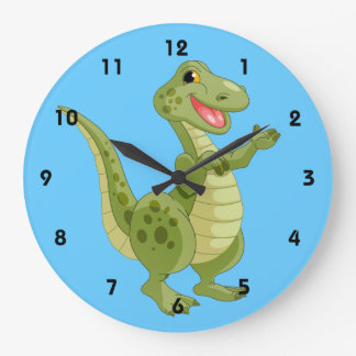 Dinosaur Kids Wall Clock