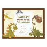 Dinosaur Land Birthday Invitation