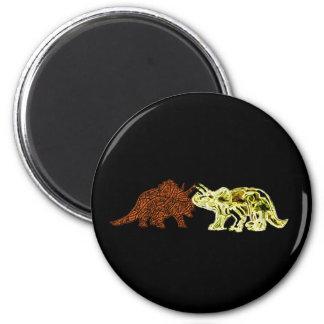 Dinosaur Mates 6 Cm Round Magnet
