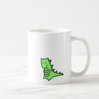 Dinosaur Mug White