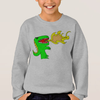 Dinosaur or Dragon Art by little t + Joseph Adams Sweatshirt