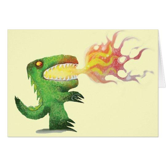 Dinosaur or Dragon by little t and Abdul Rasheed Card