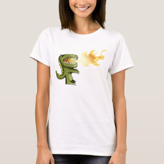 Dinosaur or Dragon kids art with Loston Wallace T-Shirt