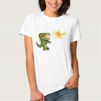 Dinosaur or Dragon kids art with Loston Wallace Tees