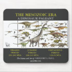 Dinosaur Pageant Mousepad Art by Gregory Paul