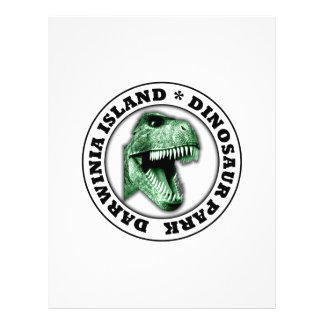 Dinosaur Park 21.5 Cm X 28 Cm Flyer