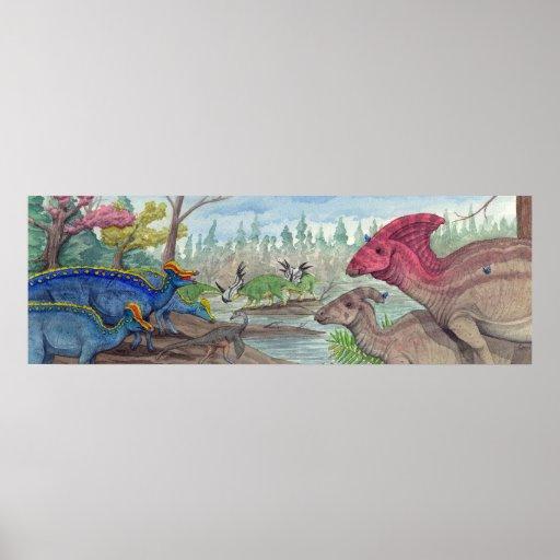 Dinosaur Park Formation Print