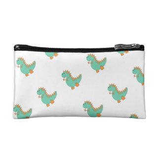 Dinosaur Pencil/Cosmetic Case Makeup Bags
