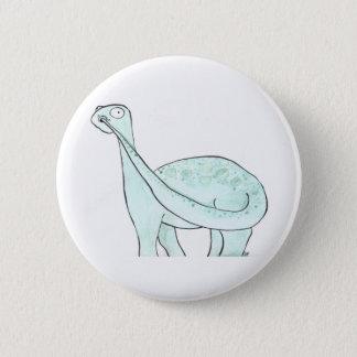 Dinosaur Picking His Nose 6 Cm Round Badge
