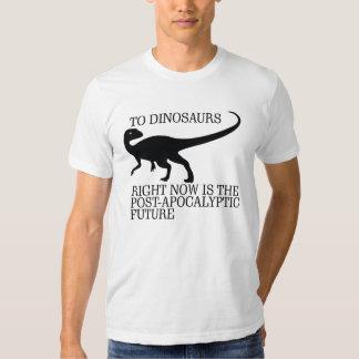 Dinosaur Post-Apocalypse Tee Shirt