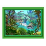 Dinosaur Post Card