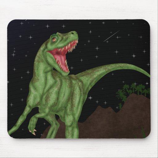 Dinosaur - Prehistoric Night Mousepad