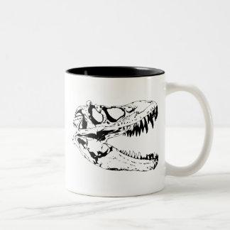 dinosaur print Two-Tone mug