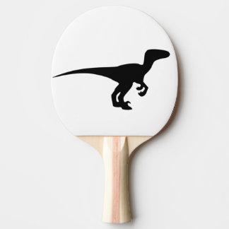 Dinosaur Raptor, Dino Design Ping Pong Paddle