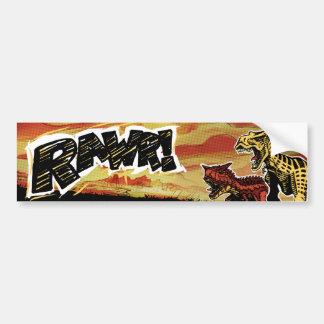 Dinosaur - RAWR! Bumper Sticker