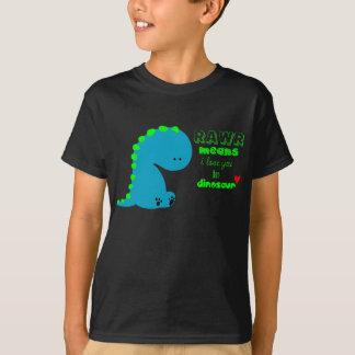 dinosaur rawr shirt