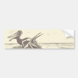 Dinosaur: Rhamphorhynchus Bumper Stickers