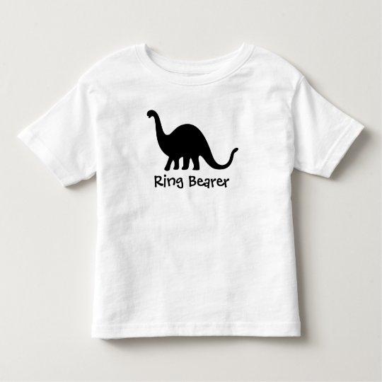 Dinosaur: Ring Bearer Toddler T-Shirt