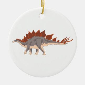 Dinosaur Round Ceramic Decoration