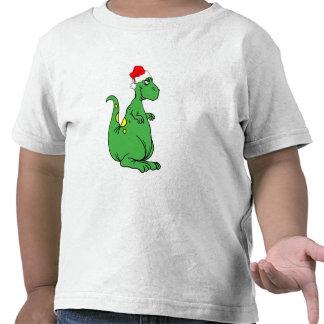 dinosaur Santa T-shirts