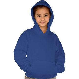 Dinosaur Silhouette Hooded Pullovers