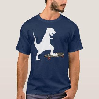 Dinosaur Skateboarding T-Shirt