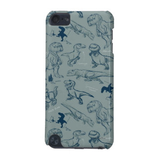 Dinosaur Sketch Pattern iPod Touch 5G Covers