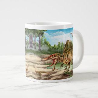 Dinosaur Species 20 Oz Large Ceramic Coffee Mug Jumbo Mug