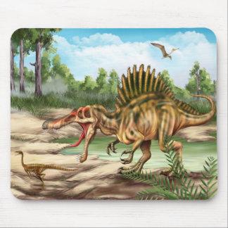 Dinosaur Species Mouse Pad