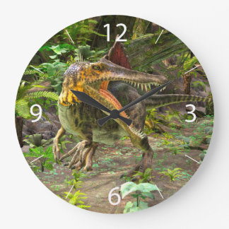 Dinosaur Spinosaurus Large Clock