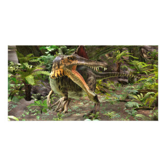 Dinosaur Spinosaurus Personalised Photo Card